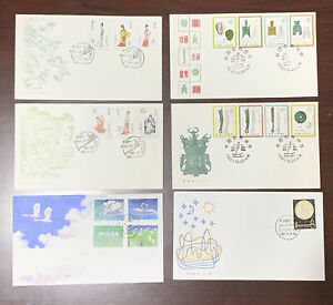CHINA-FDC-LOT-1980-039-s-BEAUTIES-ANCIENT-COINS-J79-T83