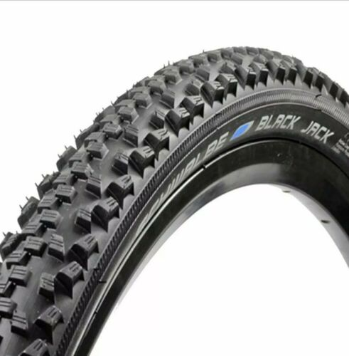 "2 x Schwalbe Black Jack K Guard MTB Tyres 20/"" x 1.90/"""