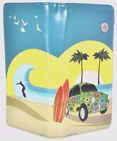 Shagwear Turquoise Zip Around Organizer Wallet Surf Car & Gift Box
