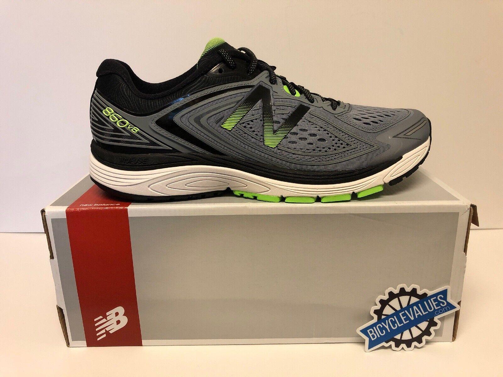 Tenis De Hombre Para Correr New Balance gris Con verde Y Negro M860gg8