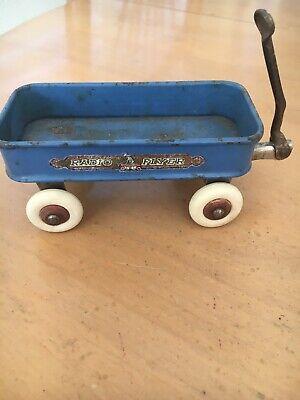Vintage Miniature Radio Flyer Wagon
