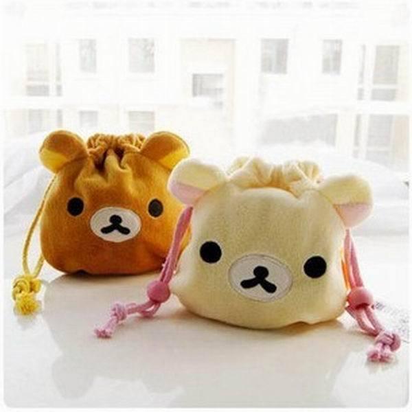 Rilakkuma San-X Drawstring Lunch Bento Bag HandBag