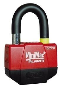 5a134c9b2803a Mini U Bloc Bloque Disque Antivol Security + Alarme moto MINIMAX+ ...