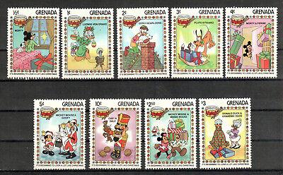 Um Der Bequemlichkeit Des Volkes Zu Entsprechen Übersee:5513 Intelligent Grenada Michelnummer 1232-1240 Postfrisch