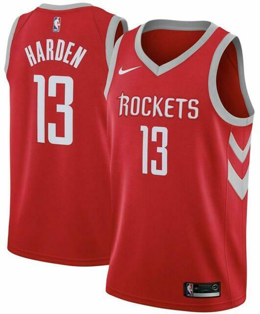Nike NBA Houston Rockets James Harden Swingman Mens Jersey 52 864477-657