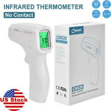 Non Contact Body Forehead Ir Infrared Digital Thermometer Adult Baby Usa