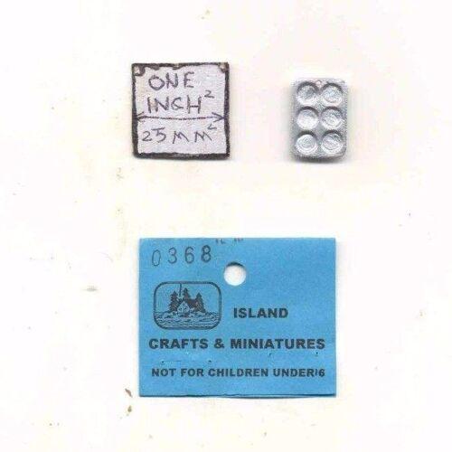 Muffin Tin 1//12 scale dollhouse cast metal miniature ISL0368 Craft Island