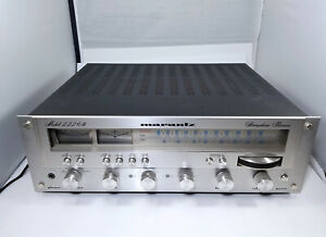 Marantz-2226B-Stereo-Receiver-Tested-amp-Working-Good-Condition-Overall