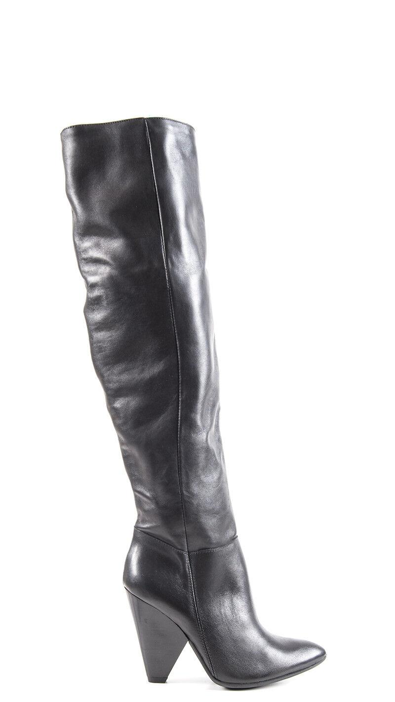 zapatos REBECCA VAN DIK mujer botas  negro Pelle naturale 5999VIT-NE