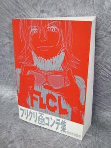 FLCL-Ekonte-Storyboard-Art-Works-Illustrations-2005-Gainax-Book