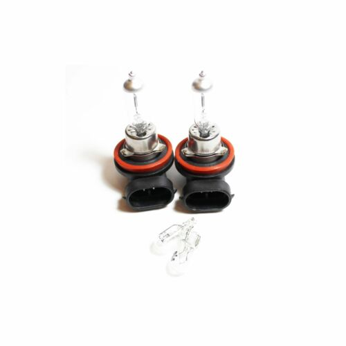 Mitsubishi Shogun MK4 H11 501 55w Clear Xenon HID Low//Side Headlight Bulbs Set