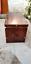 thumbnail 4 - Classic-Handmade-Leather-Brown-Finest-Leather-Trunk-With-Key-Leather-Box-Active