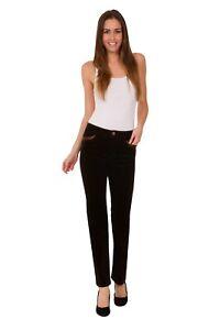 d6f7ffcc564 Ex M S Ladies Velvet Corduroy Trousers Straight Leg Cotton Size 8-22 ...