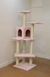 Image Is Loading New Pink 60 034 Cat Tree Condo Furniture