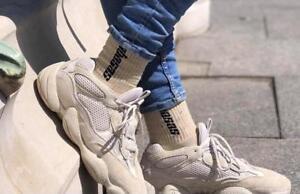 2 Pairs per Bundle  CLASSIC Bandana  Crew Socks White Color  Almost Knee High Urban Style Socks  Hip Hop