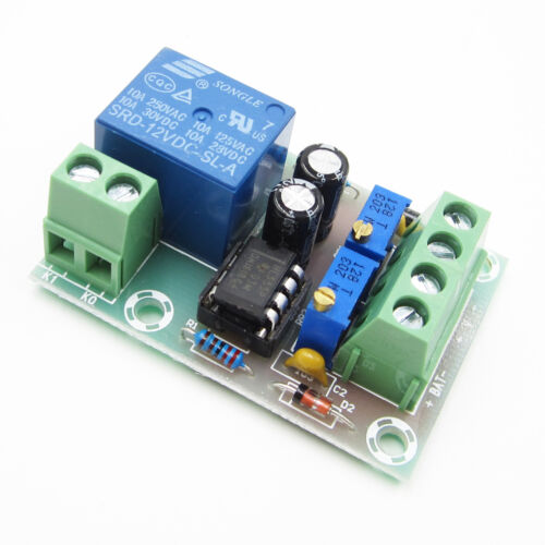 DC12V Automatic Control Board Smart Battery Charger Power Relay Control Board