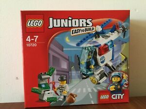 Lego-Junior-Police-Helicopter-Chase-10720-New-Unopened-Recommended-Age-4-7