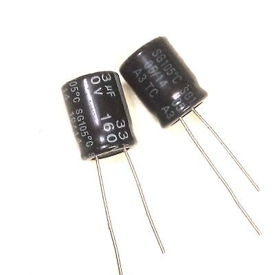 10PCS 100V 56uF 100Volt 56MFD Electrolytic Capacitor 10×13