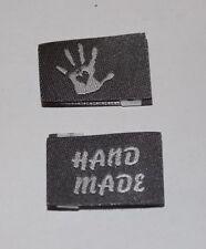 10 Handmade Webetiketten Label Etikett Handmade with Love in 14 Farben!!! ❤