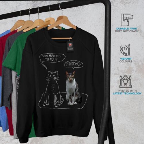 Funny Casual Pullover Jumper Wellcoda Photographer Designer Womens Sweatshirt