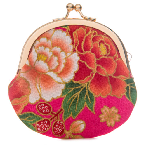 Petite Rose Floral Japonais Traditionnel Sac À Main
