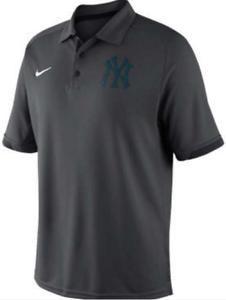 706cd16df Nike Dri Fit New York Yankees Elite Team Training Polo shirt MLB ...