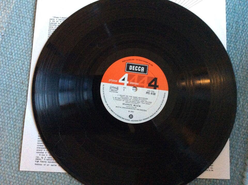LP, Stanley Black , SPUTNIKS FOR ORCHESTRA