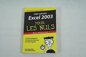 EXCEL 2003 pour les NULS format poche mini reference 2004 bon etat FjAqrPWj-08150910-109734583
