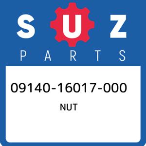 09140-16017-000-Suzuki-Nut-0914016017000-New-Genuine-OEM-Part