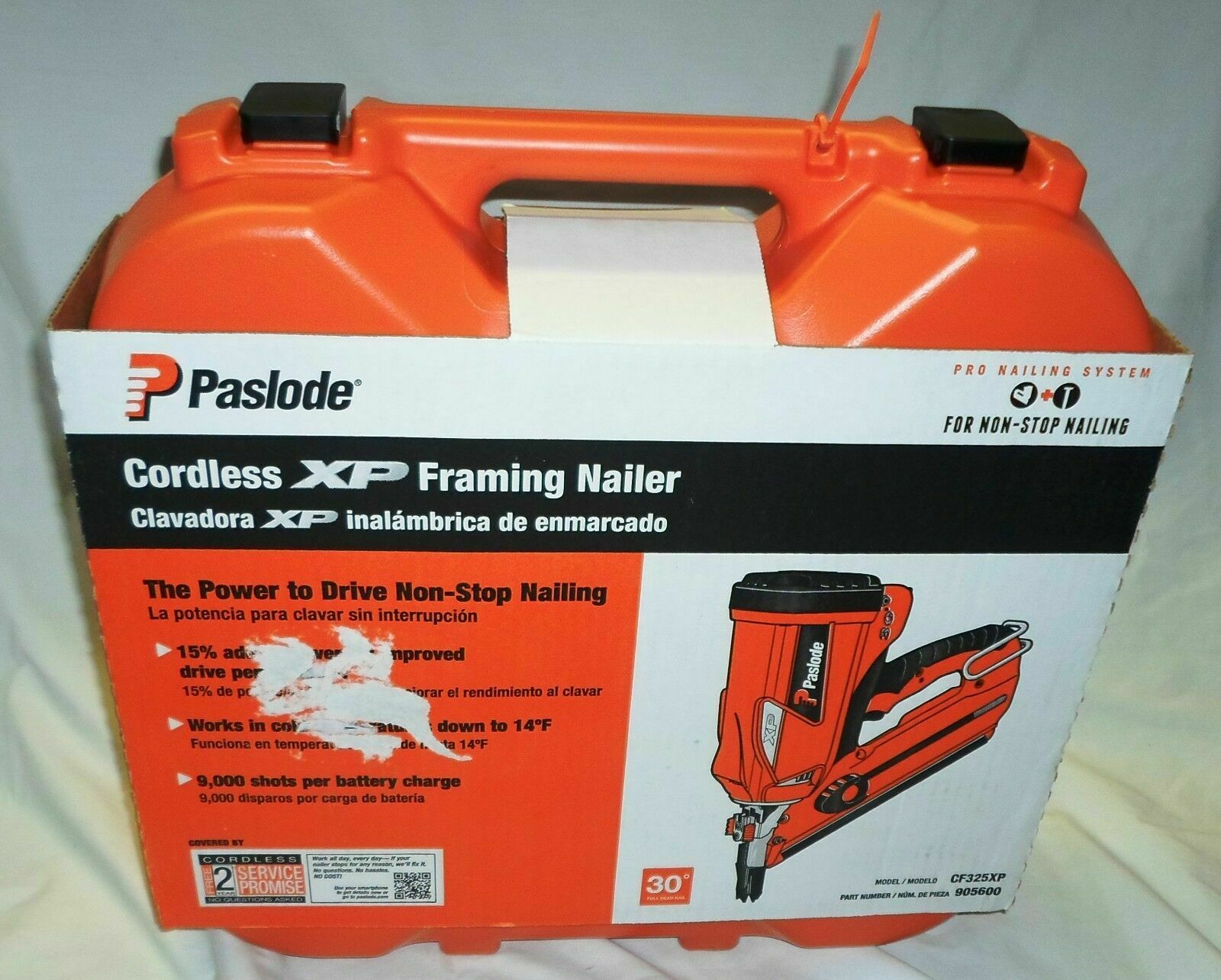 Paslode Cordless Framing Nailer CF325XP 905600 - NEW. Buy it now for 310.00