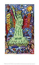 James RIZZI THE BIG APPLE IS BIG ON LIBERTY POSTER PLAKAT 8 Kunstdruck PopArt
