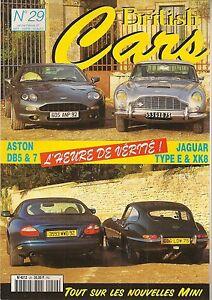 BRITISH-CARS-29-ASTON-MARTIN-DB5-DB7-JAGUAR-TYPE-E-XK8-RR-SILVER-CLOUD-MG-Y-1947