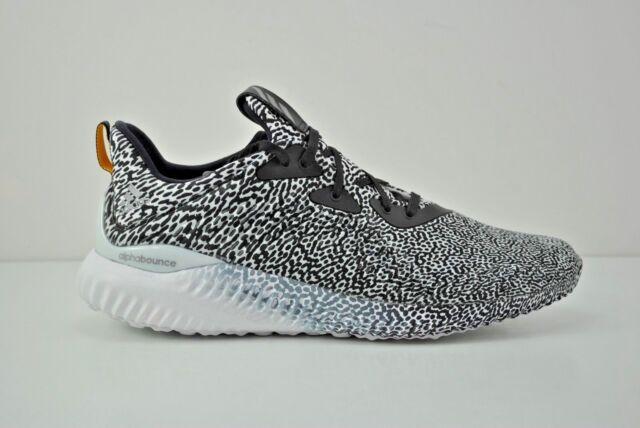 baskets pour pas cher 63a63 7ea25 Adidas Alphabounce Aramis Shoes Size 8 - 13 Black White B54366 Turtle Dove  Zebra