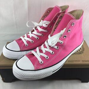 2312487e6a495a Converse Chuck Taylor All Stars HI TOPS Shoes Men SZ 9.5 11 PINK ...
