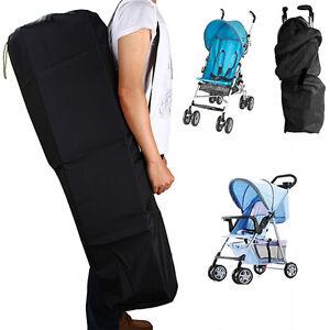 Gate-Check-Pram-Travel-Bag-Organizer-Stroller-Pushchair-Waterproof-Buggy-Cover