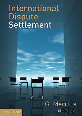 1 of 1 - International Dispute Settlement-ExLibrary