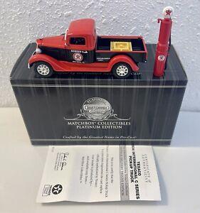 92124 Matchbox Collectibles Platinum 1934 International Texaco Truck Diecast MIB
