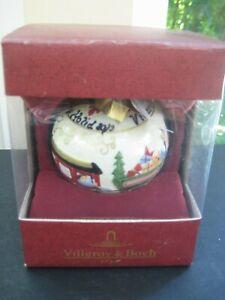 Villeroy-amp-Boch-TOY-039-S-ORNAMENTS-Porcelain-Christmas-Ornament-Train-6854