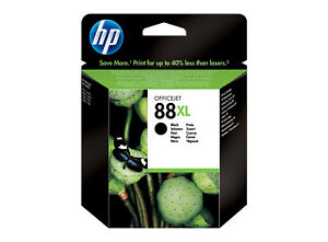 HP-88XL-Negro-ORIGINAL-C9396A-Caducada-caja-desgastada