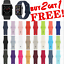 thumbnail 1 - Silicone Band Strap for Apple Watch Series 1/2/3/4/5 iWatch Sports 38/40/42/44mm