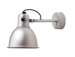 Kriptonite lampada da parete applique in alluminio anodizzato ebay