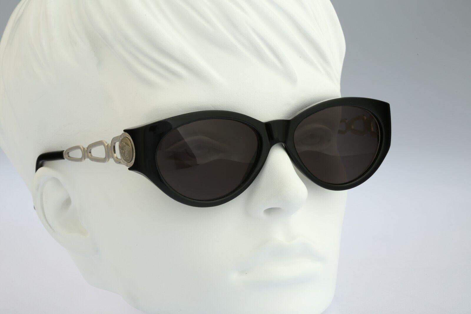 Gianni Versace 490 N52, 90s Vintage cat eye sungl… - image 6