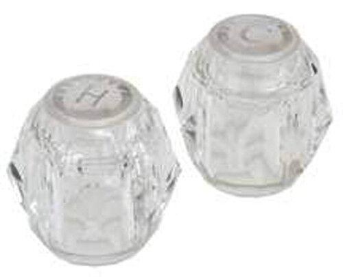 genuine moen clear acrylic shower tub faucet handle knob chateau ebay