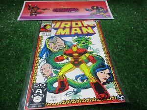 vtg-invincible-Iron-Man-270-Marvel-Comic-book-1st-print-hi-res-pics
