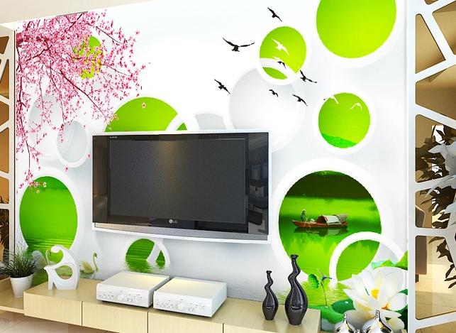 3D Springtime Farbe 81 Wall Paper Murals Wall Print Wall Wallpaper Mural AU Kyra