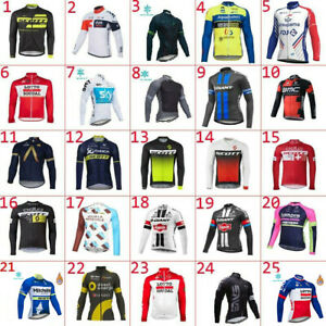 2019-Thermal-Fleece-Mens-Long-Sleeve-Cycling-Jersey-Winter-Cycling-Jersey-Top