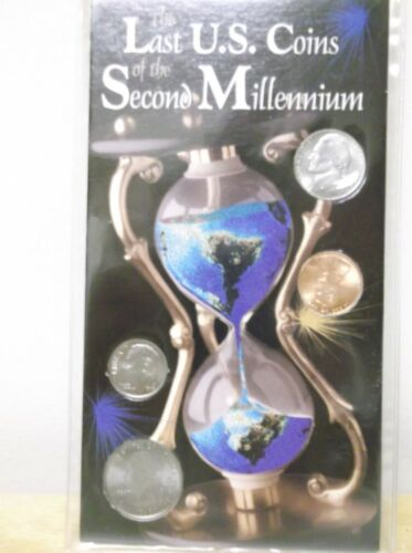 Sealed Set Of The Last US Coins of the Second Millennium by The Morgan Mint