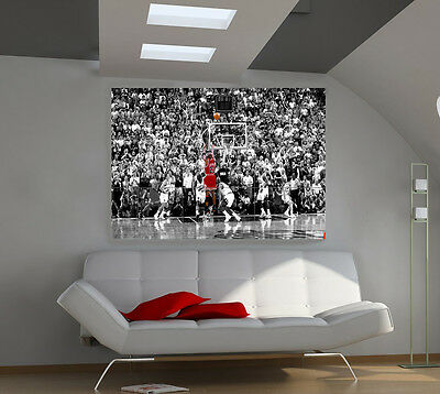 "Michael Jordan Huge Art Giant Poster Wall Print 39""x57"""