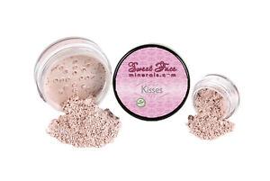 BLUSH (KISSES) Mineral Makeup Powder Bare Face Shadow Contour Rouge Highlight