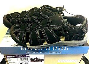 fc893dc6e875 ON SALE! NEW Khombu Men s TRAVIS Active Sandals - PICK SIZE - BLACK ...